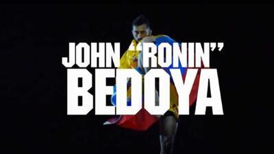 'Ronin' Bedoya, el encargado de representar a Colombia en Copa Combate