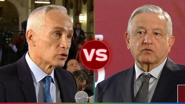 """""""Eso si calienta"""": Jorge Ramos confronta a López Obrador sobre las desastrosas cifras de su gobierno"""