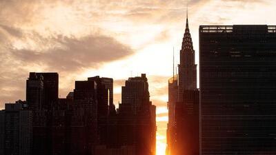 Manhattanhenge 2019: cómo y dónde ver el deslumbrante fenómeno