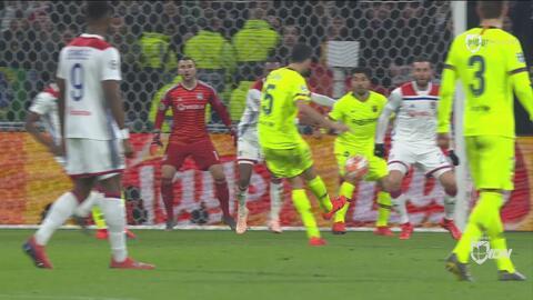 Lopes le dice no al gol del Barcelona con una espectacular estirada