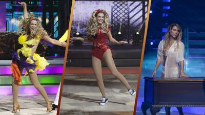 En fotos, los tres bailes de Verónica Montes durante su paso por Mira Quién Baila