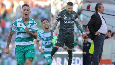 En fotos: Santos inaugura su temporada como local ante las Chivas y con notas altas