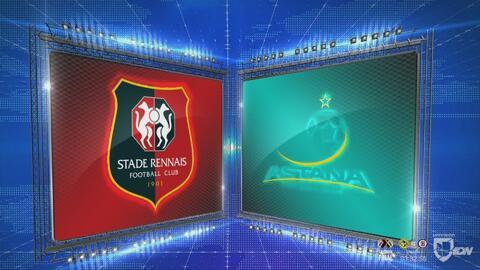 Rennes 2 -2 FC Astana – GOLES Y RESUMEN - Grupo K - UEFA Europa League