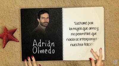 """Osvaldo Benavides es """"Adrián Olmedo"""" y lúchara por el amor de Paulina en """"A Que No Me Dejas"""""""