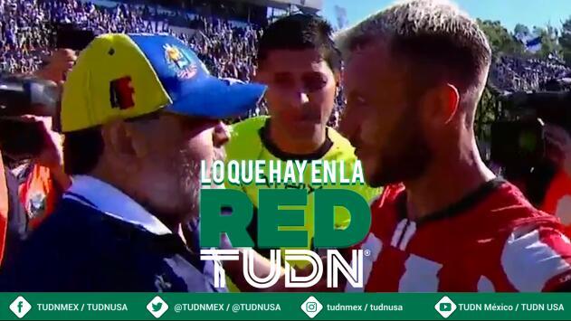 Maradona se hace de palabras con exjugador de Tigres