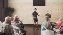 ¡Qué ritmo, Novak! Djokovic mostró sus 'espectaculares' pasos de bailes en promo