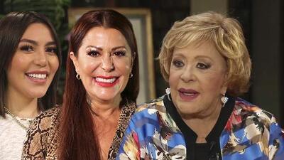 Silvia Pinal aclara si tiene o no mala relación con alguno de sus hijos (¿y qué dice de Frida Sofía?)