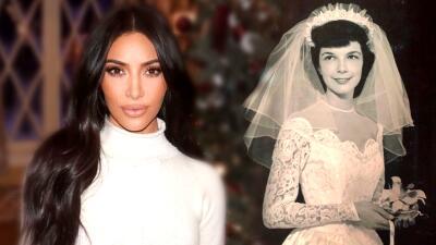 Kim Kardashian demuestra que las bodas fugaces son cosa de familia