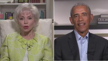 Barack Obama revela los matices de su vida y de su presidencia a Isabel Allende en exclusiva para Univision