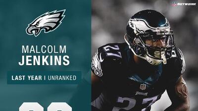 #90: Malcolm Jenkins (S, Eagles)   Top 100 jugadores 2017