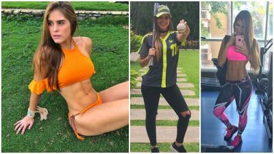Amante del béisbol y el gimnasio, Karla Paredes conquista las redes sociales