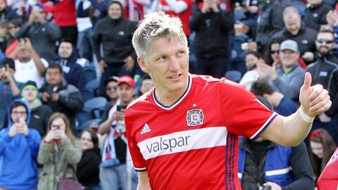 Schweinsteiger y Chicago siguen imparables; regresó Josef Martínez en lo mejor de la fecha en MLS