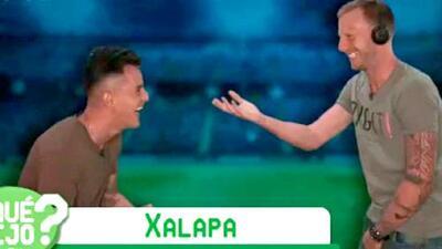 ¿Quién dijo qué?: carcajadas de Adrián Luna y el 'Polaco' Menéndez para adivinar la palabra Xalapa