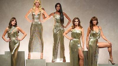 Supermodelos se reúnen para conmemorar los 20 años del asesinato de Versace