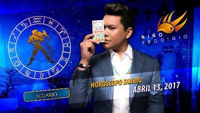 Niño Prodigio - Acuario 13 de abril 2017