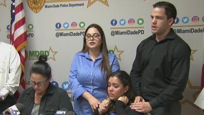 Entre lágrimas y ruegos, familia de un hombre que murió por una bala perdida en Miami exige justicia