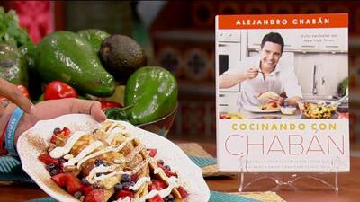 Receta de 'Tacos de fruta con crema' preparada por Alejandro Chabán para consentirnos sin remordimientos