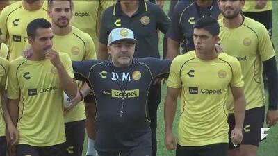 EXCLUSIVE:  Interview with Diego Armando Maradona