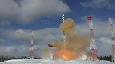 Satán 2: el 'supermisil nuclear' que los rusos probaron este viernes