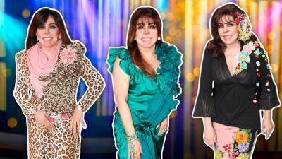 Recopilamos los míticos atuendos que Verónica Castro eligió para su regreso a la televisión