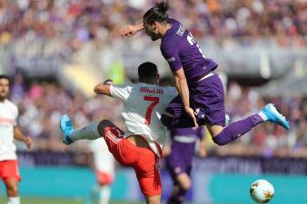 En fotos: Juventus empata de visita con Fiorentina