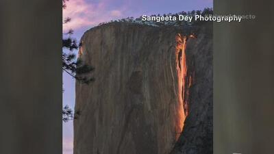 Parque Nacional Yosemite regala un espectáculo único