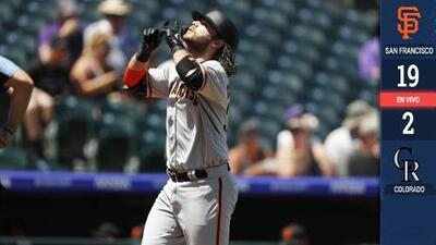 ¡El Crawford-fest! San Francisco apalea a Colorado con 8 producidas de Brandon Crawford