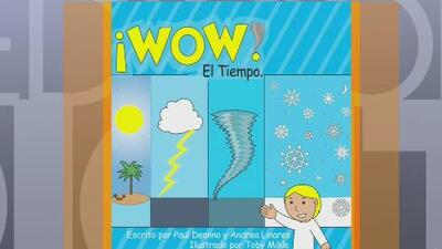 El libro gráfico con el que los niños podrán aprender sobre el tiempo