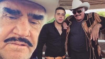 En este video el asesinado cantante Alejandro Villa recibía la bendición del propio don Vicente Fernández