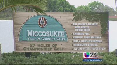 Preocupados por petición de la tribu Miccosukee