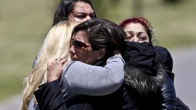 """La esposa de un tripulante del submarino a la Armada argentina: """"Son unos perversos"""""""