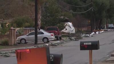 Emiten órdenes de evacuación para residentes de áreas propensas a deslaves e inundaciones en el sur de California