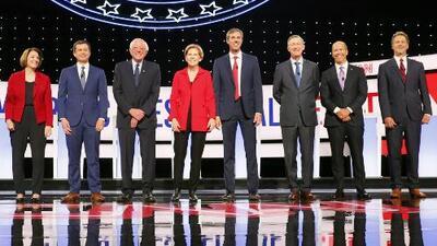 Salud e inmigración dominan el segundo debate de precandidatos demócratas para la presidencia 2020