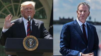 Se desata una guerra política entre Bill de Blasio y Trump, luego de que el alcalde anunciara su candidatura presidencial