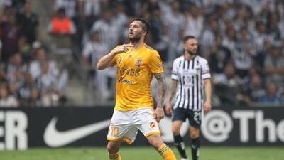 André-Pierre Gignac, máximo goleador de Tigres en la Liga de Campeones de la Concacaf