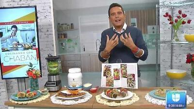 Alejandro Chabán tiene para ti cuatro buenas ideas de recetas saludables sin sacrificar el sabor latino