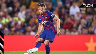 """Arthur: """"Entiendo al Barça, pero es un orgullo ir con Brasil"""""""