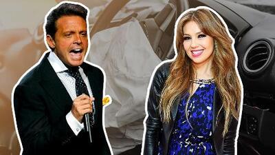 Revelan que Thalía tuvo un accidente por culpa de Luis Miguel