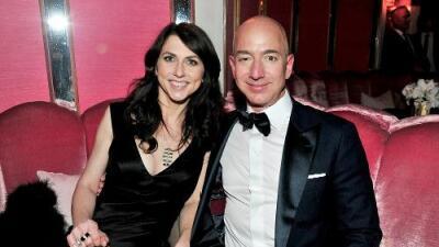 La pareja más rica del mundo se divorcia: Jeff y MacKenzie Bezos ponen fin a su matrimonio