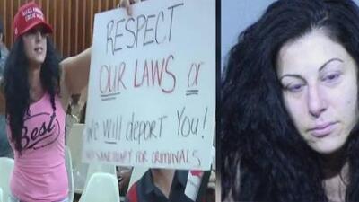 """""""Estoy por encima de la ley"""": Líder y activista antiinmigrante es capturada por robo de identidad"""