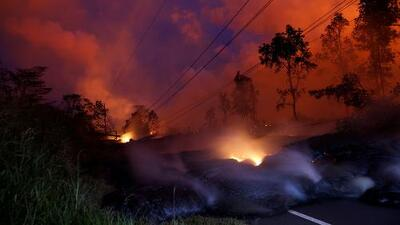 Una nueva erupción del volcán Kilauea obliga a cientos de hawaianos a evacuar sus viviendas