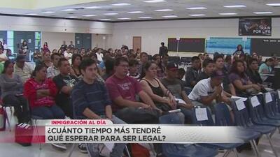 Inmigración al día: ¿Cuánto tiempo más tendré que esperar para ser legal?