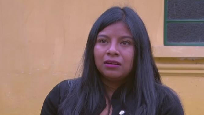 """""""Solo queríamos amor"""": joven que fue golpeada por su padre recibe ayuda de un misionero"""