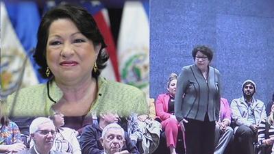 Universidad de Texas recibió la visita de la jueza Sonia Sotomayor