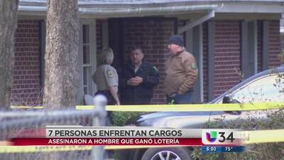 Arrestan a siete sospechosos del asesinato de un hombre que ganó la lotería