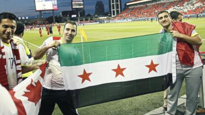 Más de 1500 refugiados sirios recién llegados a Canadá fueron acogidos por Toronto FC esta semana