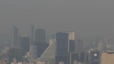Por qué la Ciudad de México se llenó de humo el fin de semana