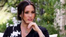 """El momento en que Meghan Markle acusa a la familia real de """"perpetuar falsedades"""" en la entrevista con Oprah"""