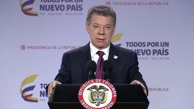 Presidente Juan Manuel Santos designa una comisión para dialogar con la oposición