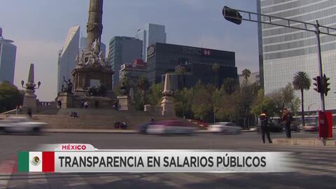Transparencia en la nómina del gobierno mexicano